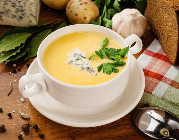 суп с чесноком
